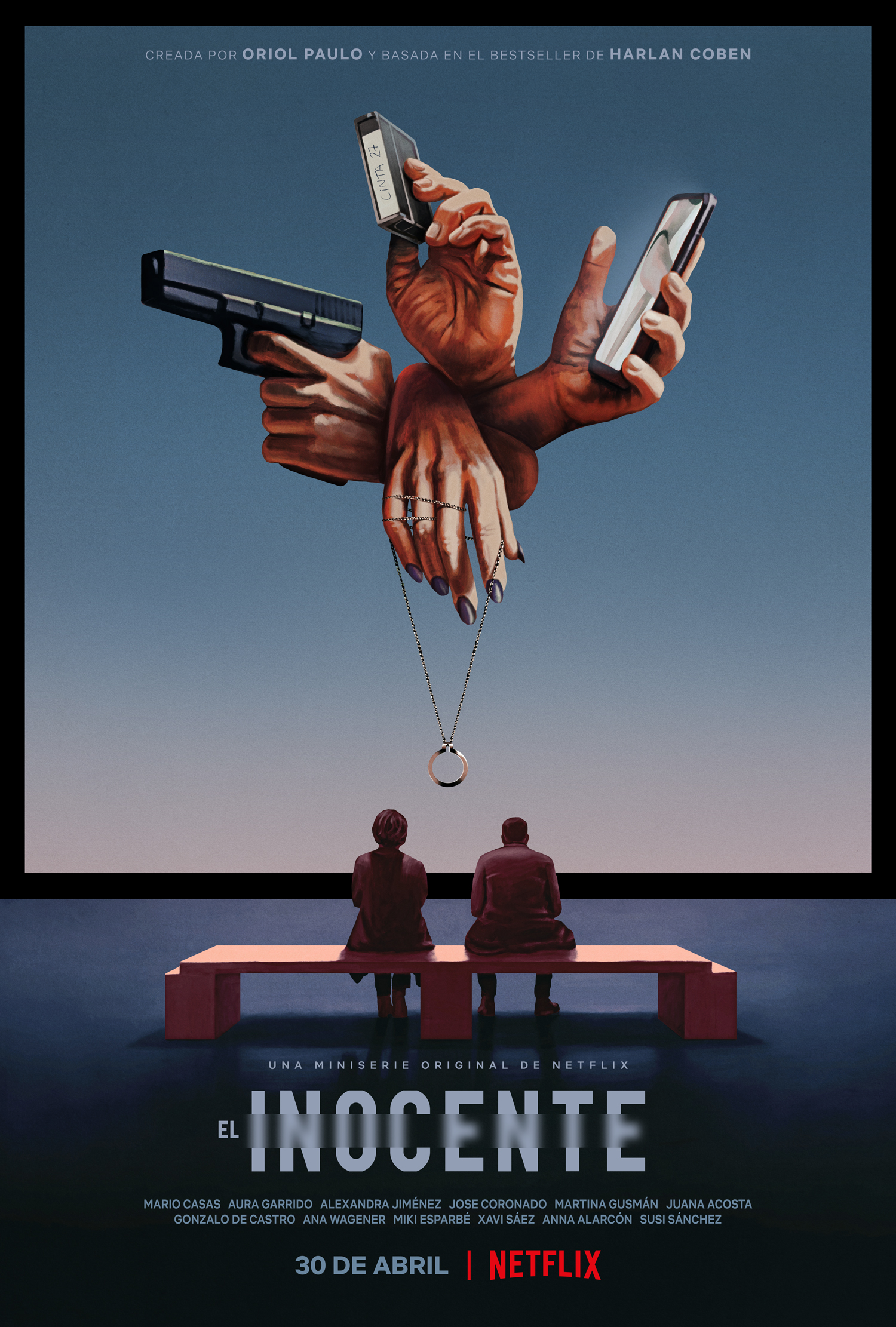 El inocente: netflix lanza trailer y poster oficial